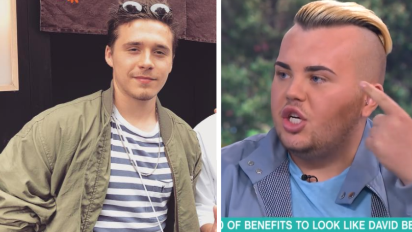 Guy Who Paid £20K On Surgery To Become David Beckham Now Wants To Be Brooklyn