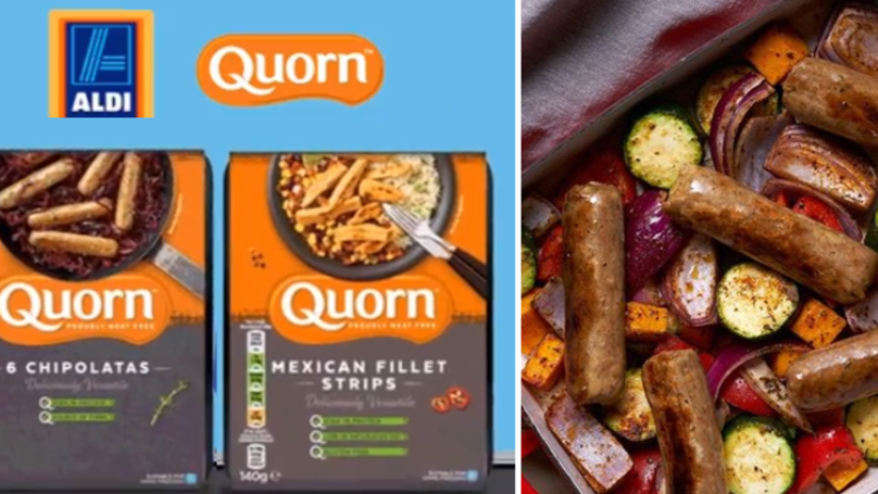 Quorn Chilled Range Officially Hits Aldi Shelves