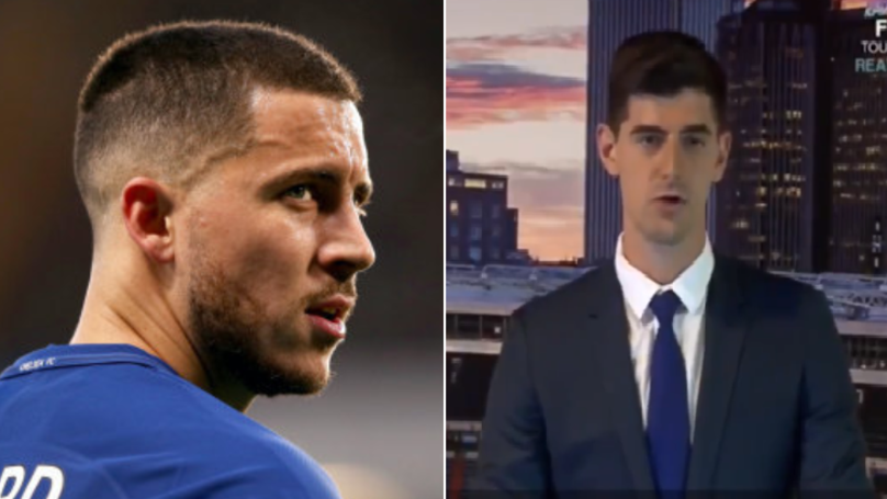 Thibaut Courtois Sends Message To Eden Hazard About Real Madrid Transfer