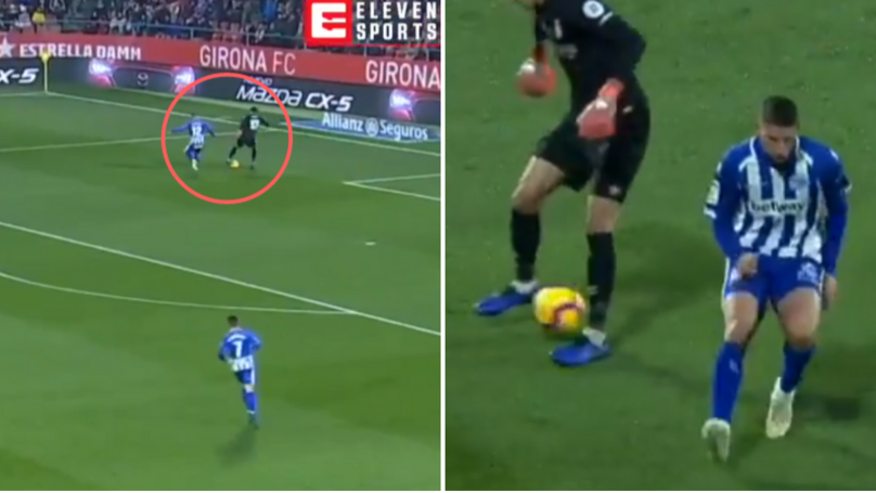 Girona Goalkeeper Bono Sends Striker To The Shops With Outrageous Skill