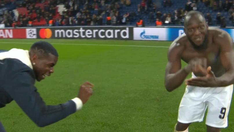 Paul Pogba And Romelu Lukaku Brilliantly Mock The Sun At Full-Time After Sensational Comeback