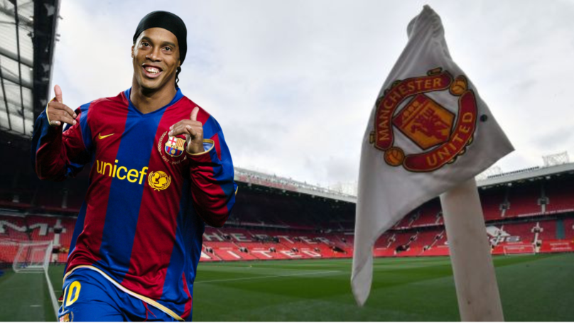 Ronaldinho Was Convinced He Was Signing For Manchester United In 2003