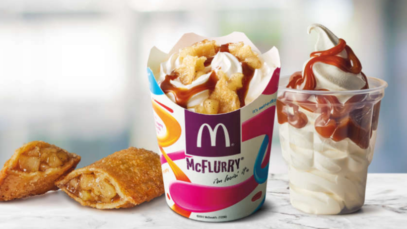 McDonald's Has Launched An Apple Pie McFlurry And It Looks Amazing