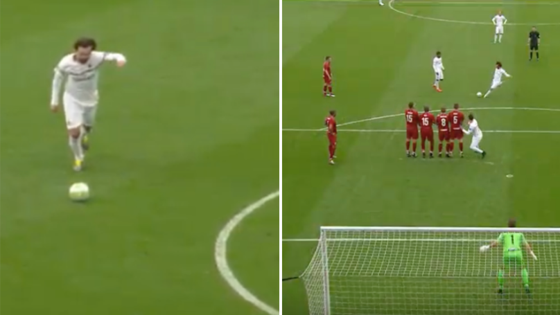 Andrea Pirlo Rolls The Back The Years With Glorious Free-Kick In Legends Game