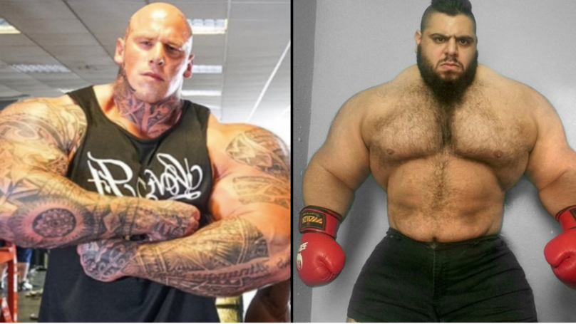 Martyn Ford Rumoured To Be Fighting 'The Iranian Hulk' In MMA Debut