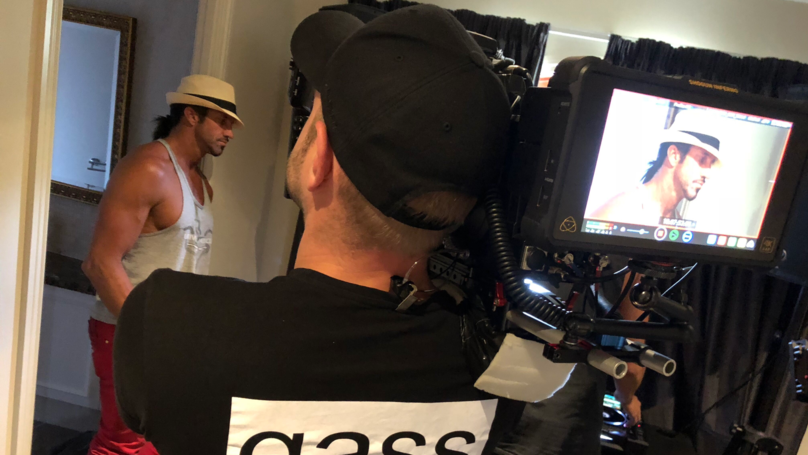 Leaked Images Show Travers 'Candyman' Beynon Filming New Reality TV Series