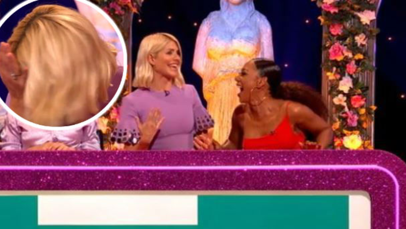 Red-Faced Holly Willoughby Responds To Question About Lesbian 'Experimentation' on Celebrity Juice