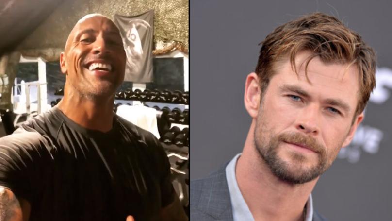 Dwayne 'The Rock' Johnson Roasted Chris Hemsworth On His Birthday