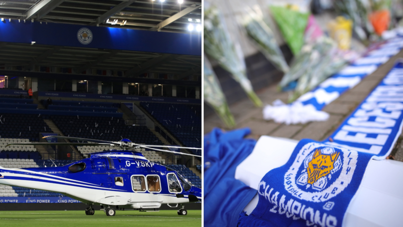 Harrowing Picture Shows Extent Of The Damage From Leicester City Helicopter Crash