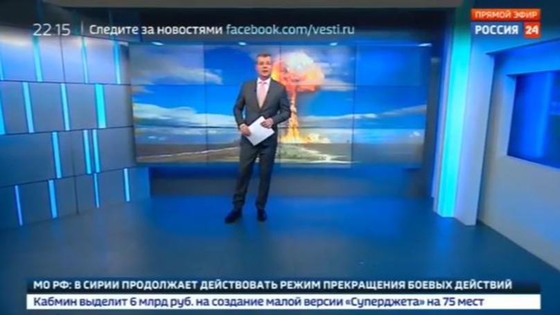Russian State TV Is Telling Viewers To Stockpile Food In Preparation For War