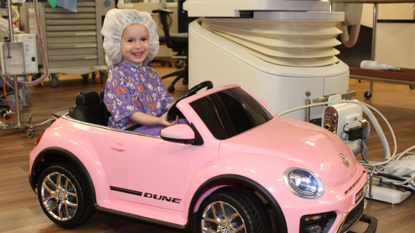 Hospital Gives Cars To Young Patients To Drive To Surgery