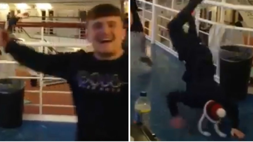 Video Emerges Of UK Prisoners In 'Christmas Rave'