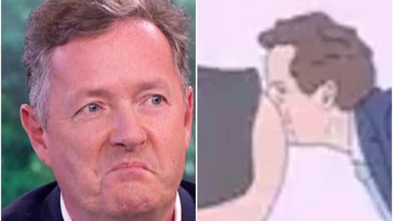 Piers Morgan Hits Out At BBC For Broadcasting Trump Cartoon