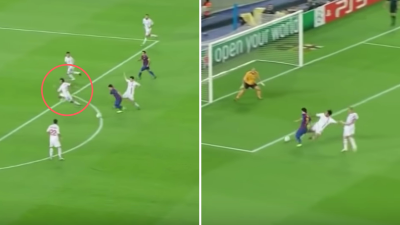 The Moment A 35-Year-Old Nesta Put On The Perfect Defending Display Against Lionel Messi