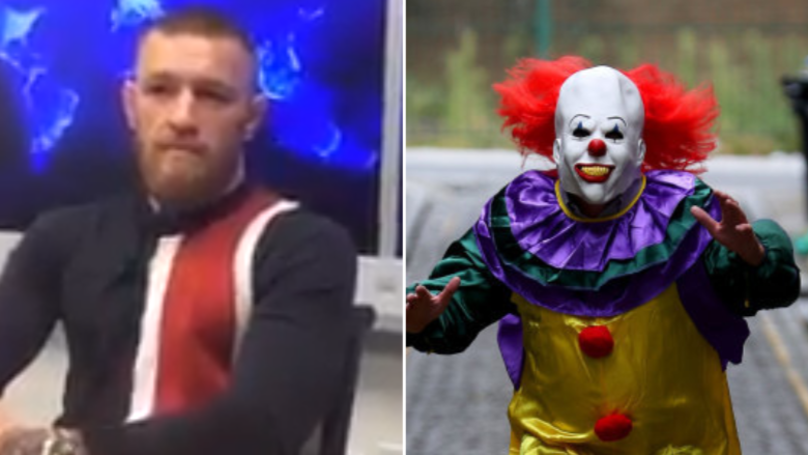 Conor McGregor Would 'Slap The Head Off' A Killer Clown