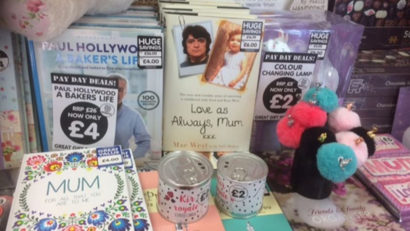 Bookshop Slammed For Mother's Day Display Featuring Rose West Book