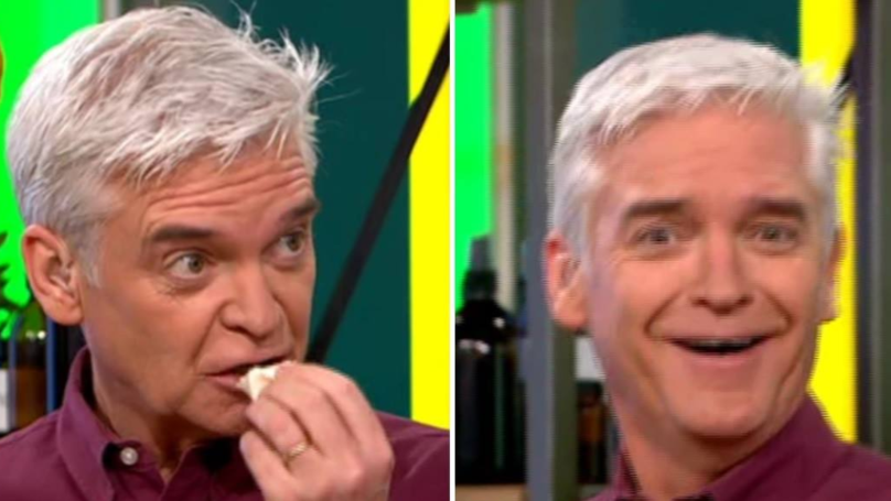 Phillip Schofield Binges On Cannabis Products Live On 'This Morning'