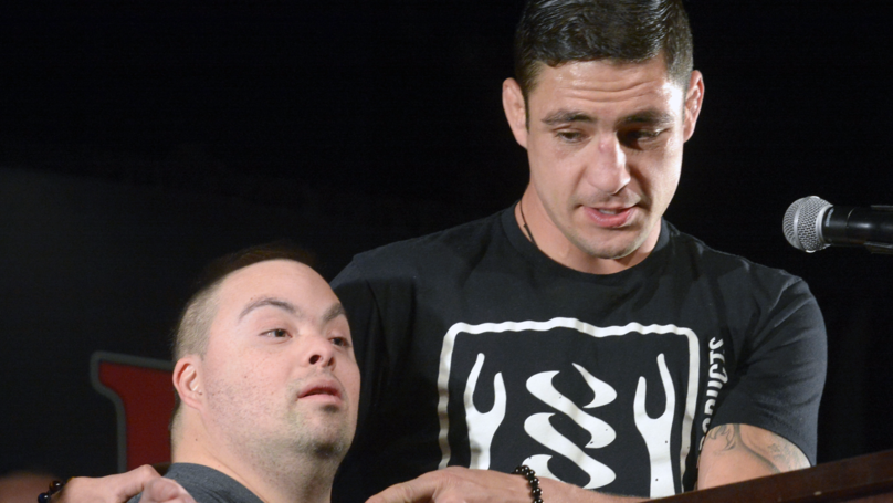 ​UFC Fighter Diego Sanchez Makes Dream Come True For Fan With Down's Syndrome