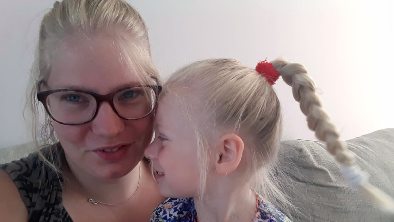 Mum Horrified After Four-Year-Old Chops Hair Into Mullet-Style Do