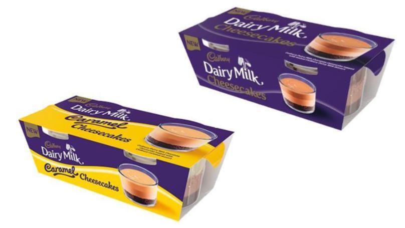Cadbury's Dairy Milk Chocolate And Caramel Cheesecakes Look Ultra Indulgent