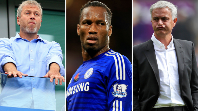 Jose Mourinho Reveals What He Told Roman Abramovich Before Signing Didier Drogba