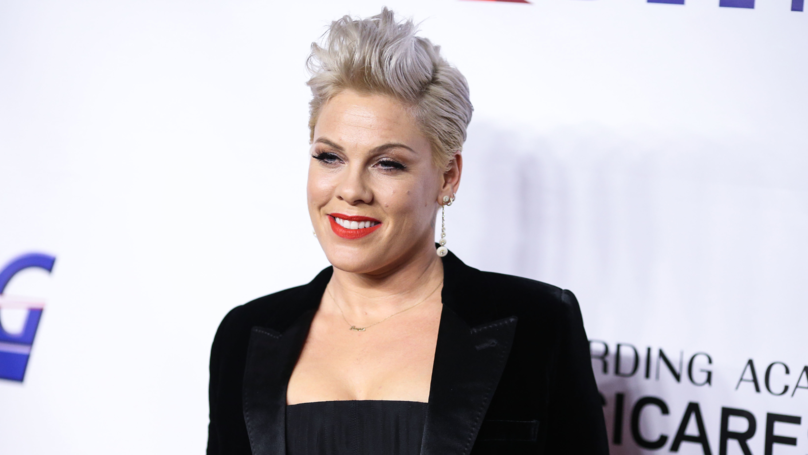 P!nk's Kids Make Her Homemade Grammy Award As She Misses Out On Win