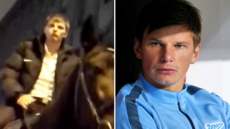 Andrey Arshavin 'Stumbled' Out Of Strip Club And Rode A Horse