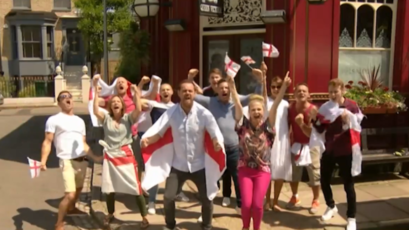​Danny Dyer And Eastenders Cast Say It's Coming Home