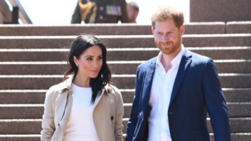 ​Meghan Markle Gives First Glimpse Of Baby Bump On Royal Tour
