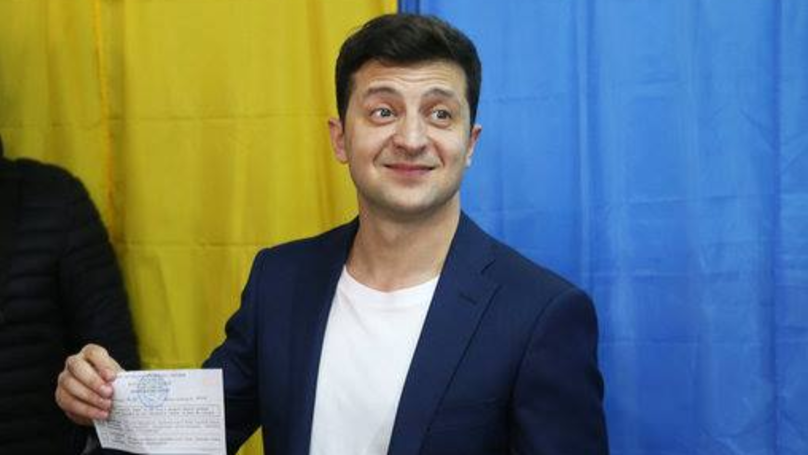 Comedian Volodymyr Zelensky Looks Set To Become Next Ukrainian President, Exit Polls Suggest