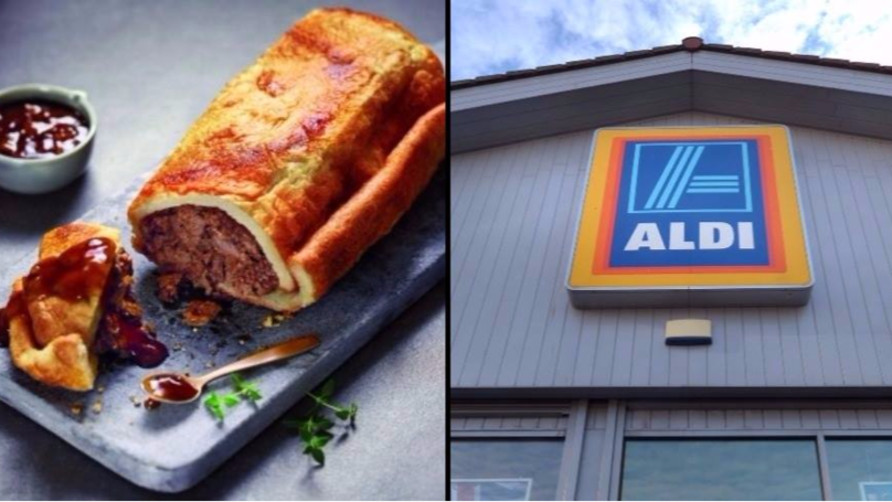 Aldi Has Launched A Yorkshire Pudding Burrito And It Looks Seriously Incredible