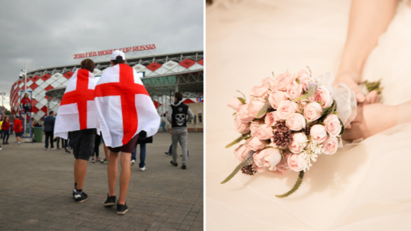 Bride Refuses To Screen World Cup Quarter Finals During Wedding