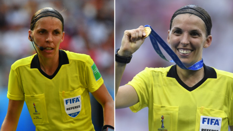 Stephanie Frappart Will Become The First Female Official To Referee A Major UEFA Men's Match