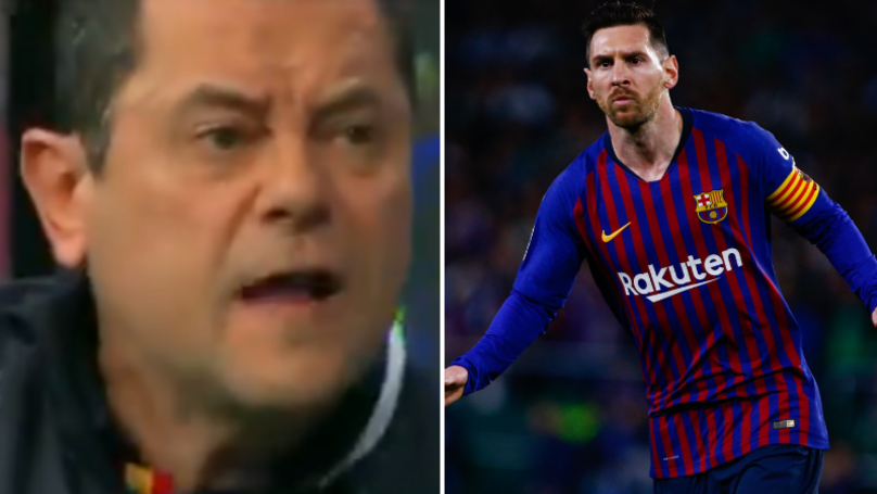 Spanish Pundit Claims Lionel Messi Will 'Hide' Against Manchester United