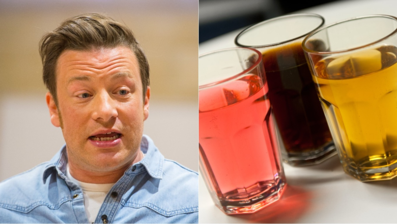 ​Jamie Oliver Wants To Ban Selling Energy Drinks To Kids
