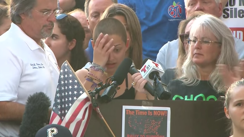Florida Student Who Gave Emotional Gun Control Speech Now Has More Followers Than NRA