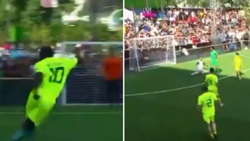 Seedorf Tears It Up In Legends Game, Deco Produces Joke Of A Finish