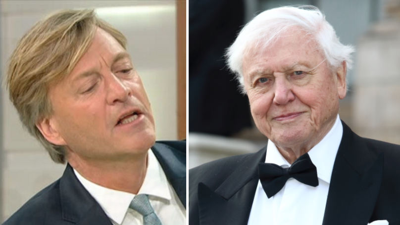 Richard Madeley Just 'Disrespected' David Attenborough And We're Fuming