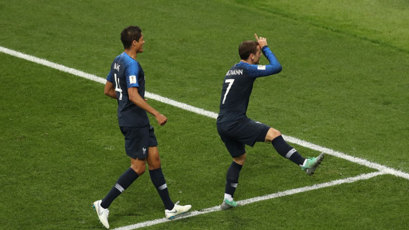 French Forward Antoine Griezmann Celebrates Penalty With 'Fortnite' Dance