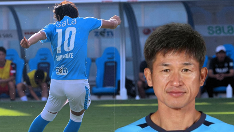 Yokohama FC's Forward Line Will Have A Combined Age Of 93 Years
