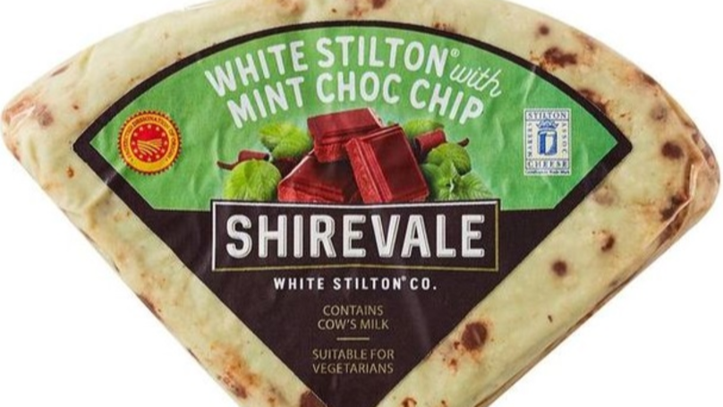 Mint Chocolate Chip Cheese Is Arriving In Supermarkets