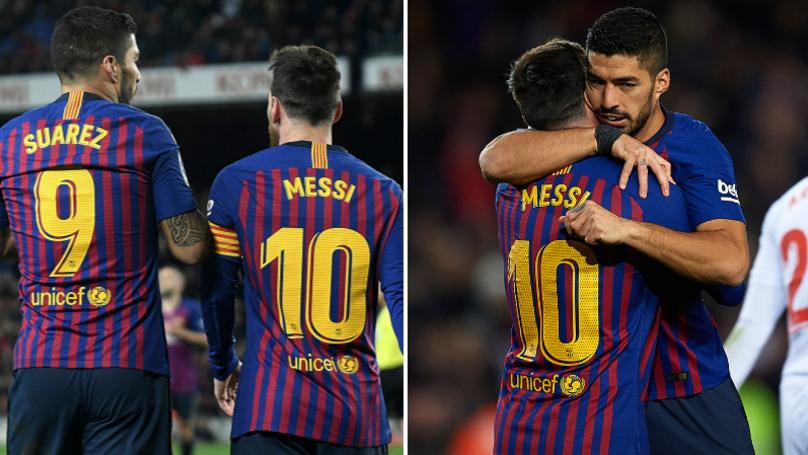 Luis Suarez Explains Why Lionel Messi Is The Best Sportbible