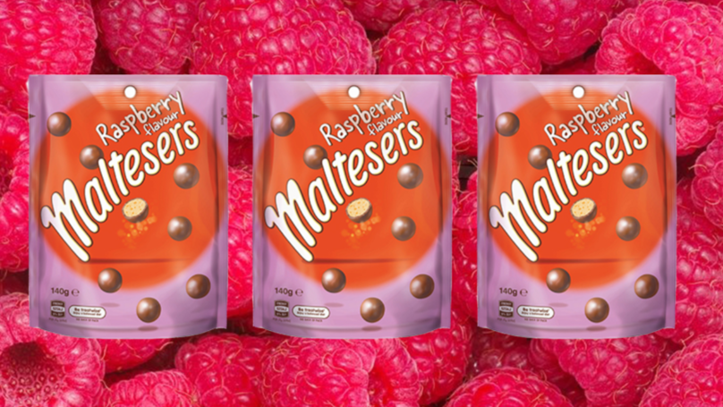Raspberry Flavoured Maltesers Are Here And They're Berry Delicious