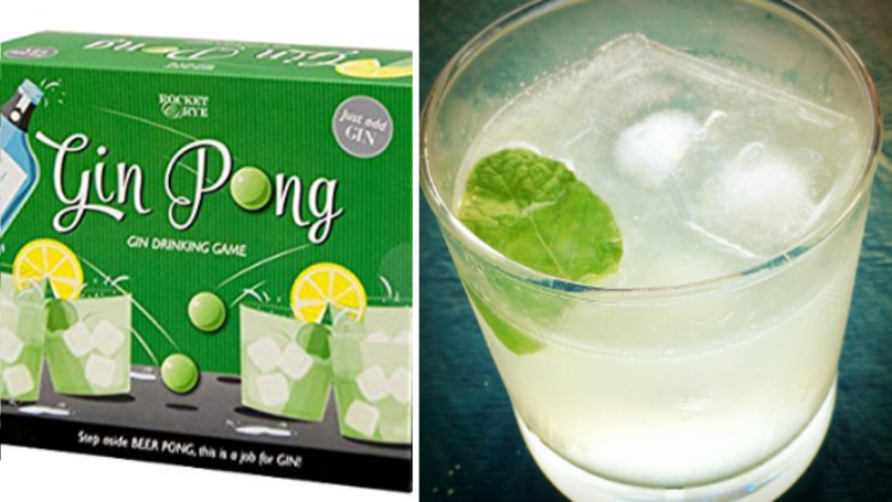 Gin Pong Is The Ultimate Party Game And It's Cheap As Chips
