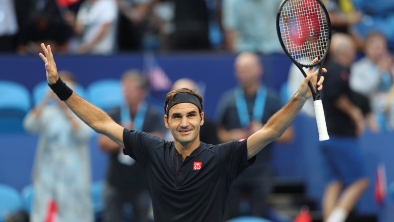 ​Roger Federer Beats Serena Williams At Hopman Cup In Australia