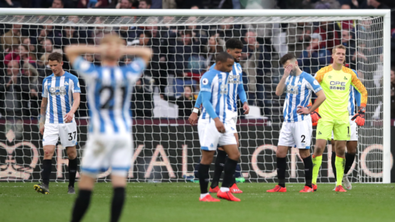 Huddersfield Town Relegated From The Premier League