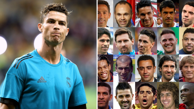 La Liga Left Cristiano Ronaldo Out Of Post Asking Fans To 'Choose Their Favourite Legend'