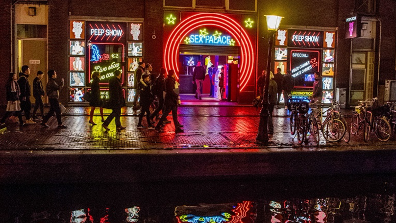 Amsterdam Bans Red Light District Tourists From Staring At Sex Workers