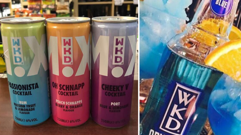 You Can Now Buy Pre-Mixed WKD Cocktails And They Look Delicious