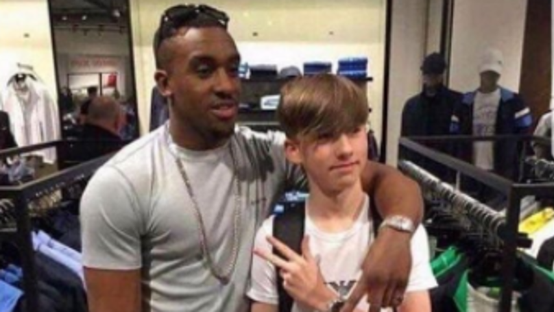 Kid Mistakes Grime MC For Anthony Joshua And Picture Goes Viral